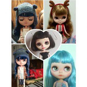 blythe dolls collage 30 cm