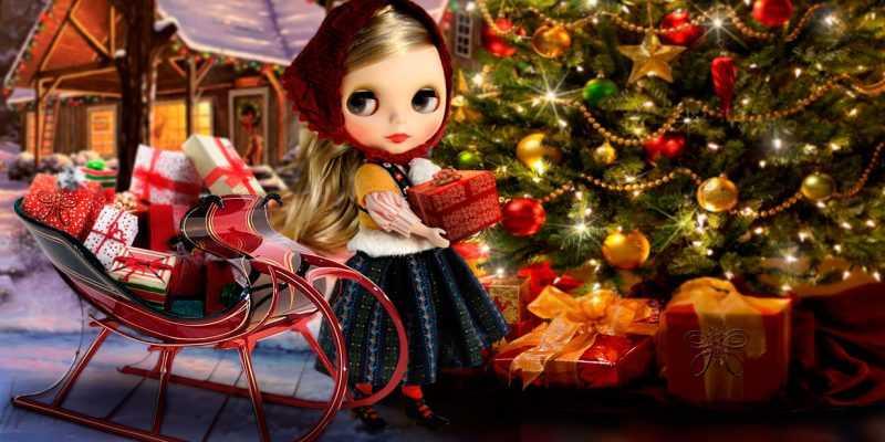 blythe christmas style