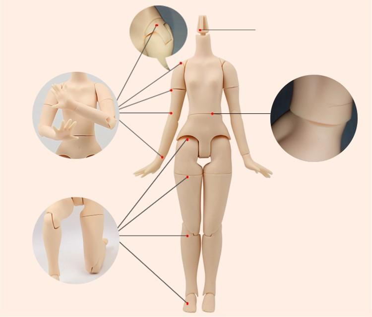joint body option blythe doll