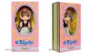 Caixa de Bonecas Blythe Neo Blythe Joanna Gentiana