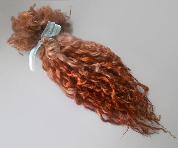 blythe doll hair