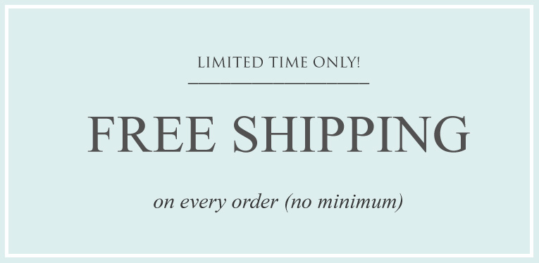 Free Shipping No Minimum Duty Paid Banner