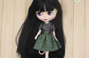 Factory Neo Blythe Doll Ruby DIY 30 cm Free Gift Clothed