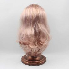 Ultra Quality Blythe Doll Light Pink Hair Wig Scalp Dome for Neo Blythe