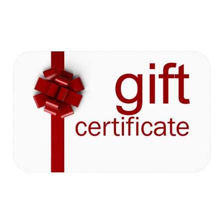 Certificat cadeau 1