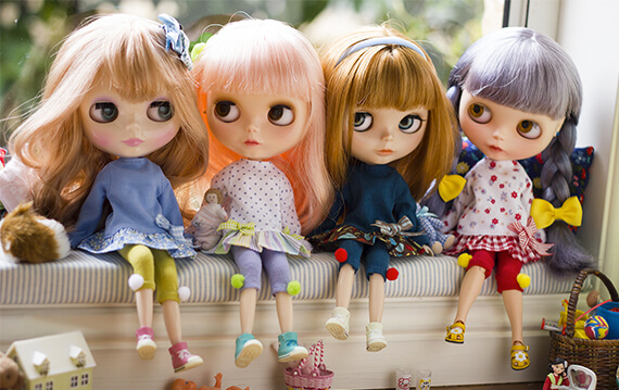blythe dolls photo