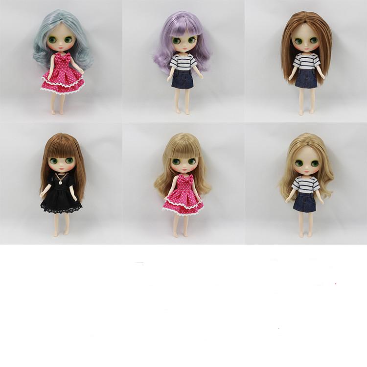 Middie Blythe Doll Colorful Hair 20cm Middie Blythe Dolls