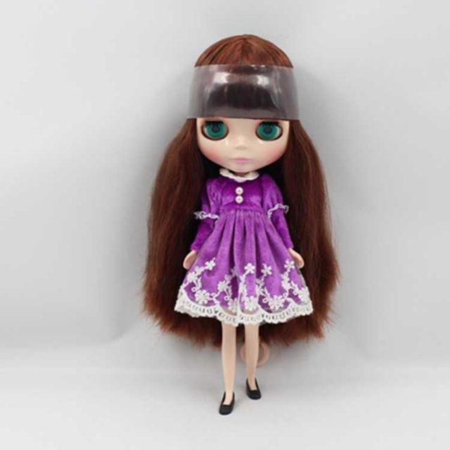 ICY Neo Blythe Doll Brown Hair Regular Body