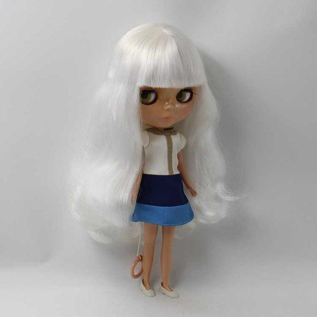 ICY Neo Blythe lutka za bijelu kosu redovito tijelo