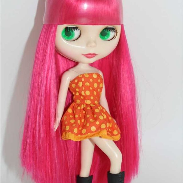 ICY Neo Blythe Poupée Rose Cheveux Corps Régulier 30cm