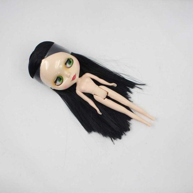 ICY Neo Blythe Doll Black Hair Regular Body