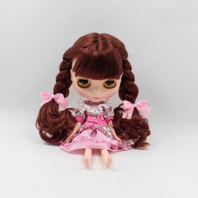 Neo Blythe Doll Pink Skirt Suit