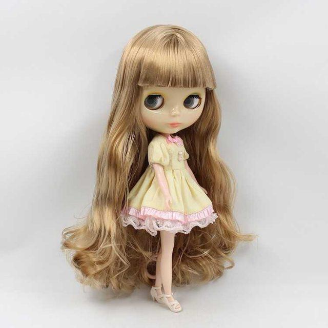 ICY Neo Blythe Doll Golden Hair Regular Body