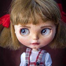 Tonya – Custom Blythe Doll OOAK