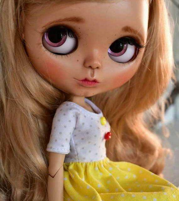 Sylvie – Custom Blythe Doll One-Of-A-Kind OOAK