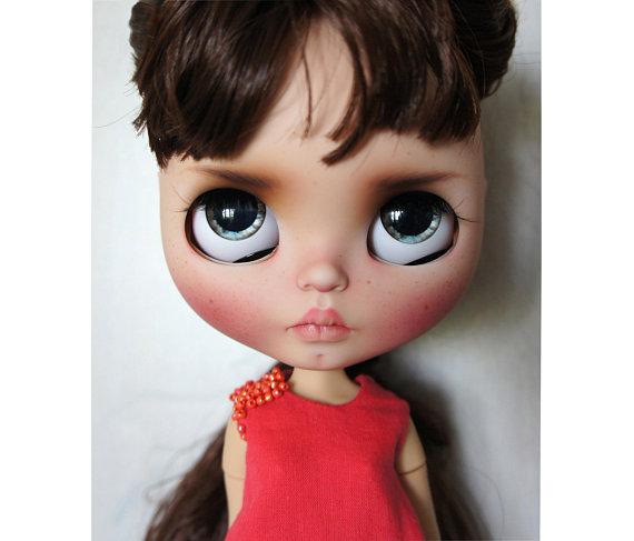 Luba - Custom Blythe Doll One-Of-A-Kind OOAK Sold-out Custom Blythes