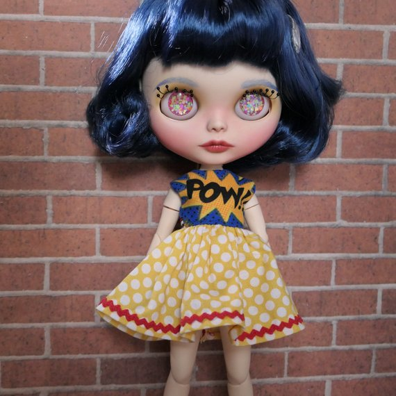 Dotty - Custom Blythe Doll One-Of-A-Kind OOAK Sold-out Custom Blythes