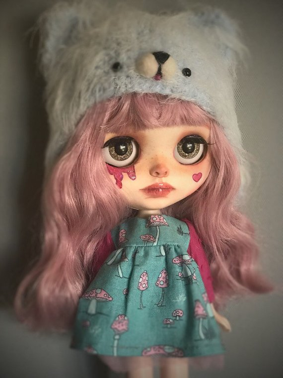 Pixie - Custom Blythe Doll One-Of-A-Kind OOAK Sold-out Custom Blythes