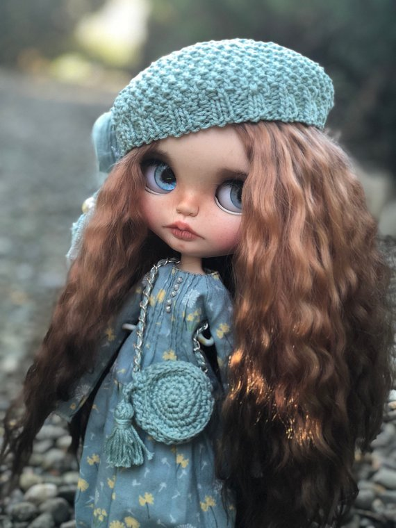Augusta - Custom Blythe Doll One-Of-A-Kind OOAK Sold-out Custom Blythes