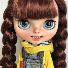 Natasha – Custom Blythe Doll OOAK