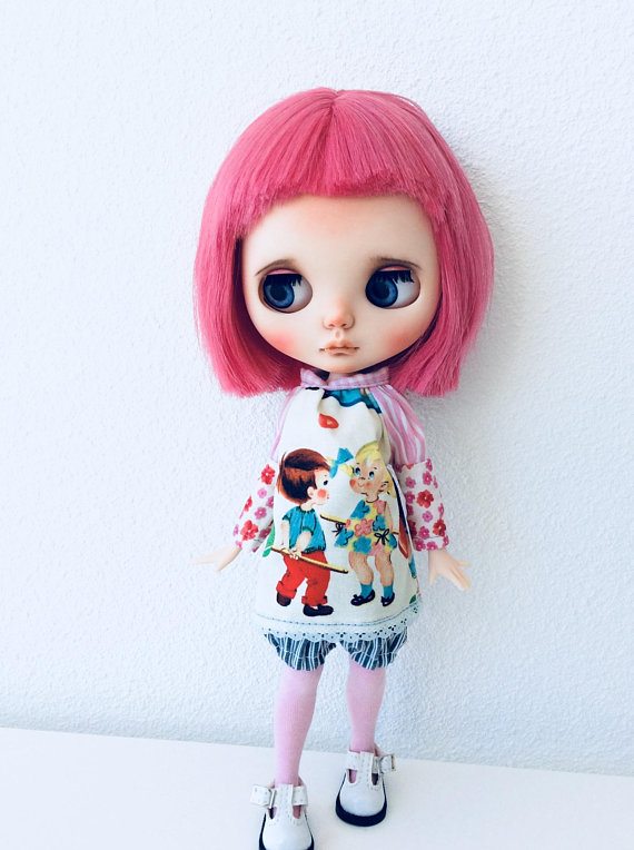 Sabrina - Custom Blythe Doll One-Of-A-Kind OOAK Sold-out Custom Blythes