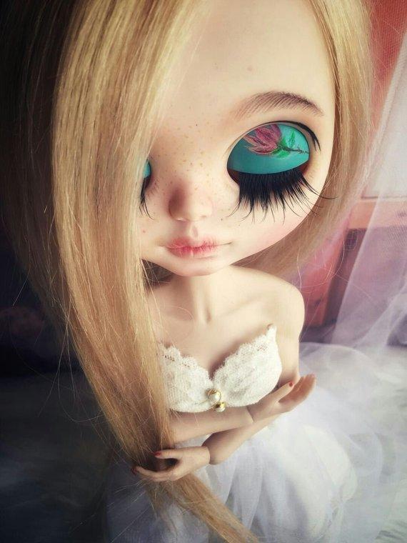 Yasmin - Custom Blythe Doll One-Of-A-Kind OOAK Sold-out Custom Blythes
