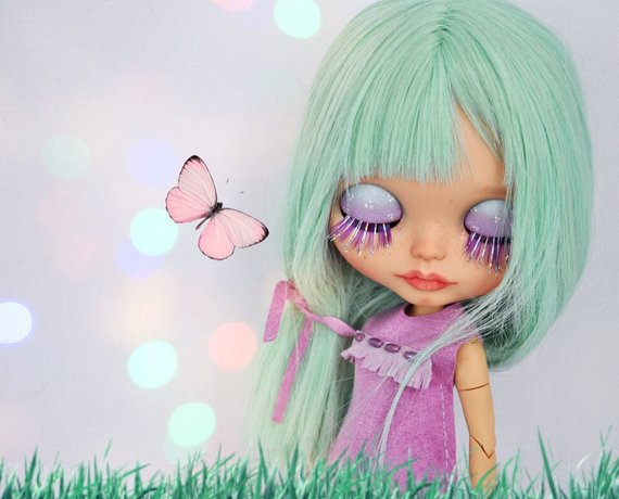 Lindy - Custom Blythe Doll One-Of-A-Kind OOAK Sold-out Custom Blythes