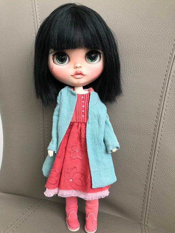 Lola - Custom Blythe Doll One-Of-A-Kind OOAK Sold-out Custom Blythes