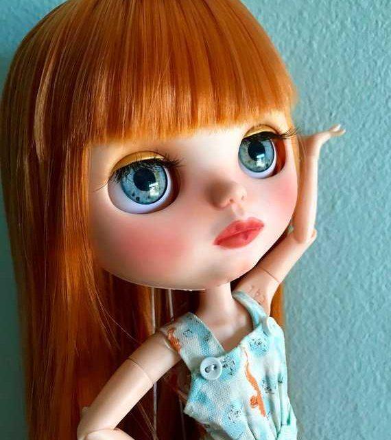 Abernathy - سفارشی Blythe عروسک OOAK