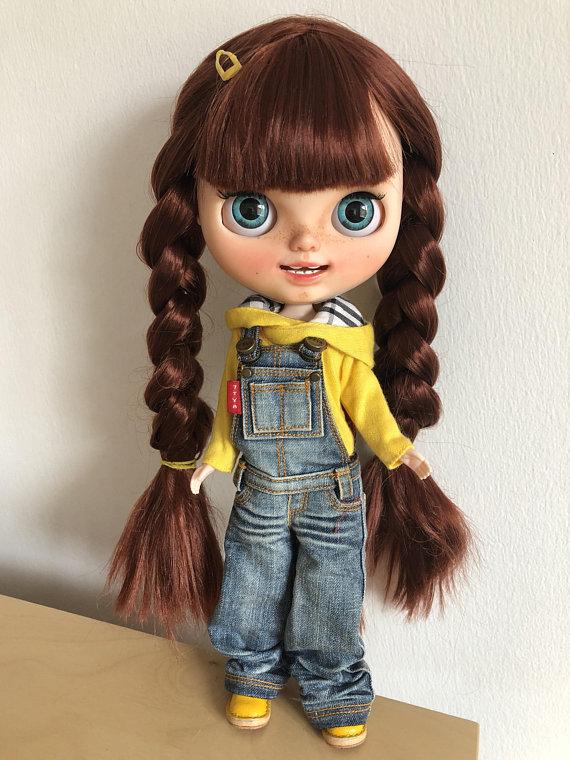 Natasha - Custom Blythe Doll One-Of-A-Kind OOAK Sold-out Custom Blythes