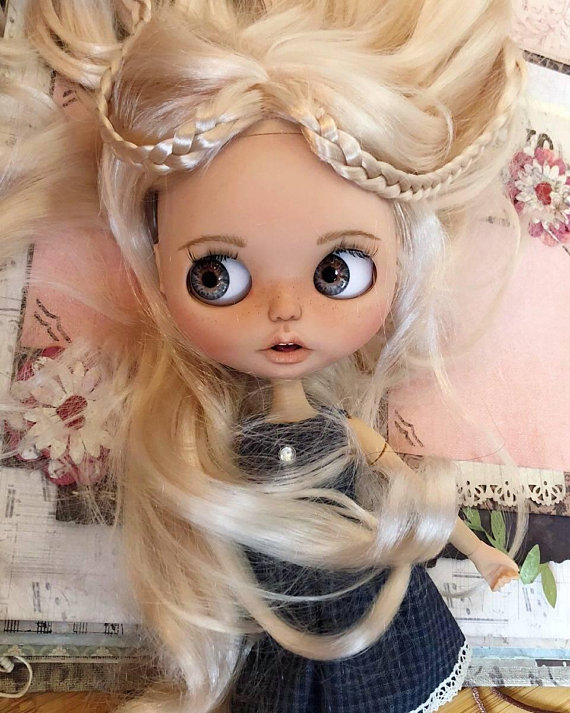 Desiree - Custom Blythe Doll One-Of-A-Kind OOAK Sold-out Custom Blythes
