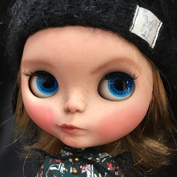 Roseanne - Custom Blythe Doll One-Of-A-Kind OOAK Sold-out Custom Blythes