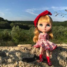 Karley – Custom Blythe Doll OOAK