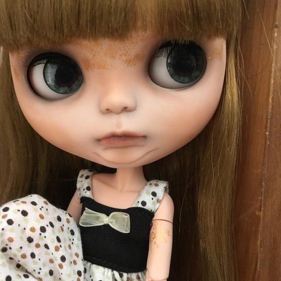Nena - Custom Blythe Doll One-Of-A-Kind OOAK Sold-out Custom Blythes