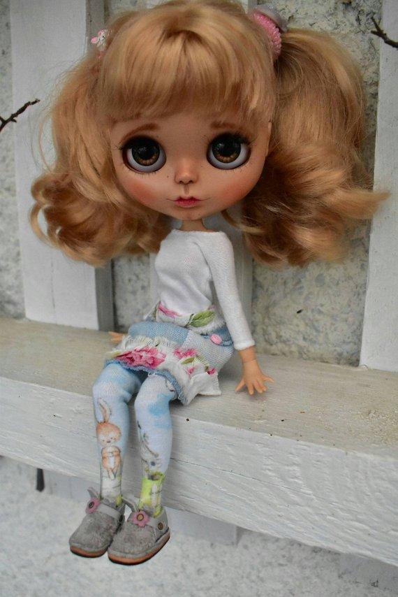 Sylvie - Custom Blythe Doll One-Of-A-Kind OOAK Sold-out Custom Blythes