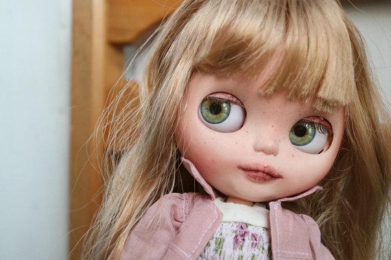 Allison - Custom Blythe Doll One-Of-A-Kind OOAK Sold-out Custom Blythes