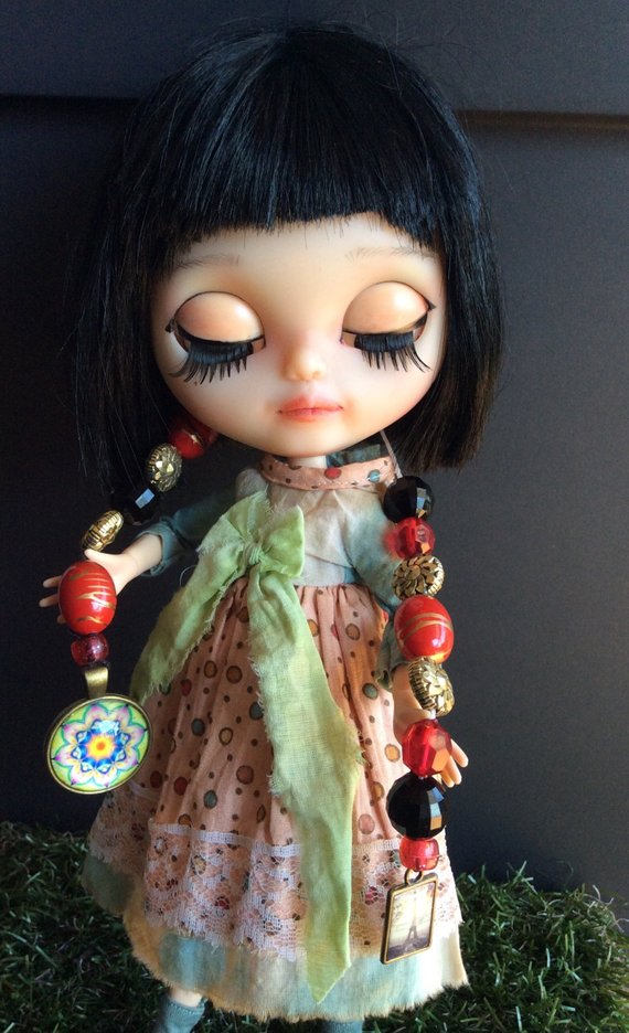 Thais - Custom Blythe Doll One-Of-A-Kind OOAK Sold-out Custom Blythes