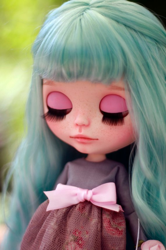 Tanya - Custom Blythe Doll One-Of-A-Kind OOAK Sold-out Custom Blythes