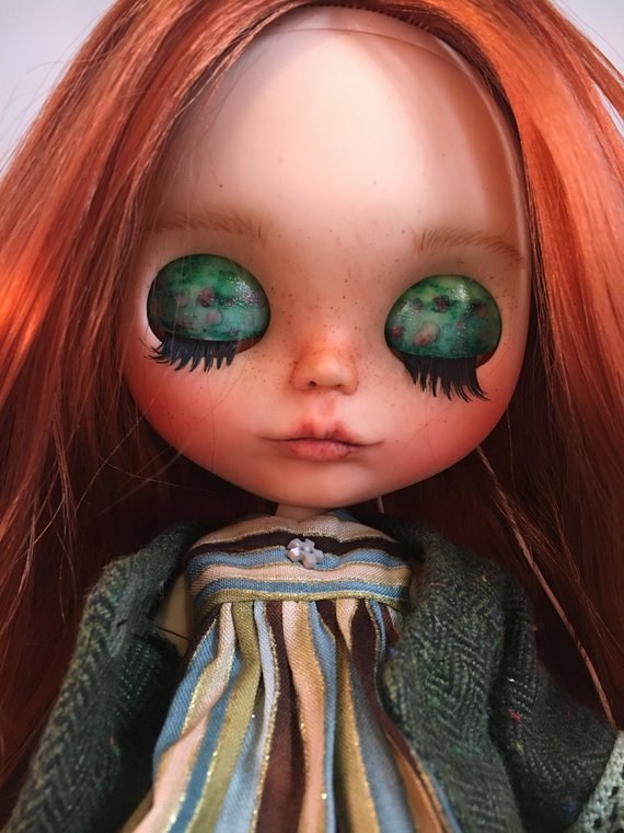 Camilla - Custom Blythe Doll One-Of-A-Kind OOAK Sold-out Custom Blythes