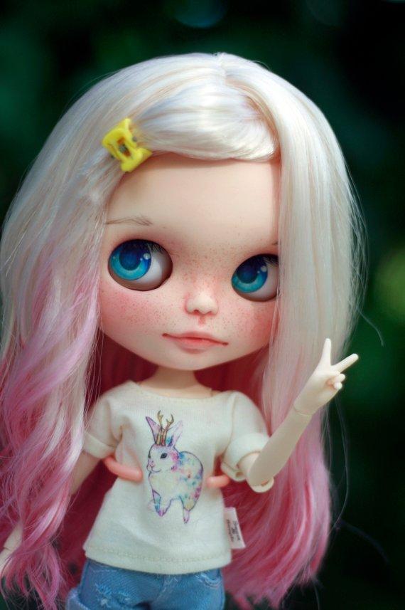 Shu - Custom Blythe Doll One-Of-A-Kind OOAK Sold-out Custom Blythes