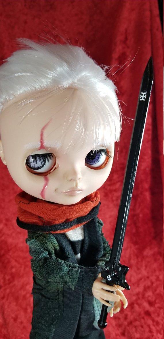 Havok - Custom Blythe Doll One-Of-A-Kind OOAK Sold-out Custom Blythes