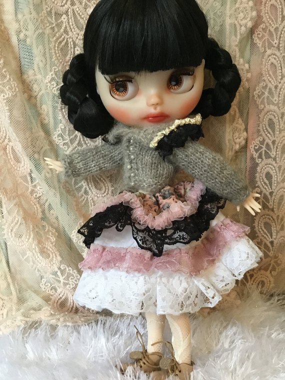 Angelique - Custom Blythe Doll One-Of-A-Kind OOAK Sold-out Custom Blythes