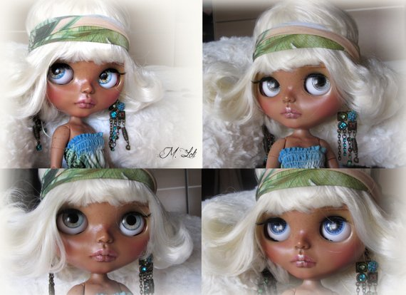 Isabela - Custom Blythe Doll One-Of-A-Kind OOAK Sold-out Custom Blythes