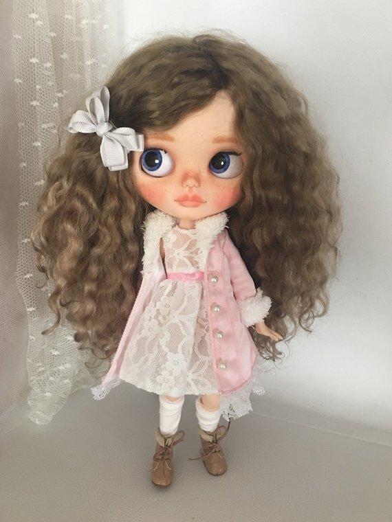 Marita - Custom Blythe Doll One-Of-A-Kind OOAK Sold-out Custom Blythes
