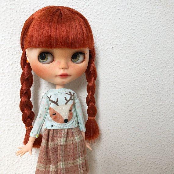 Tess – Custom Blythe Doll One-Of-A-Kind OOAK