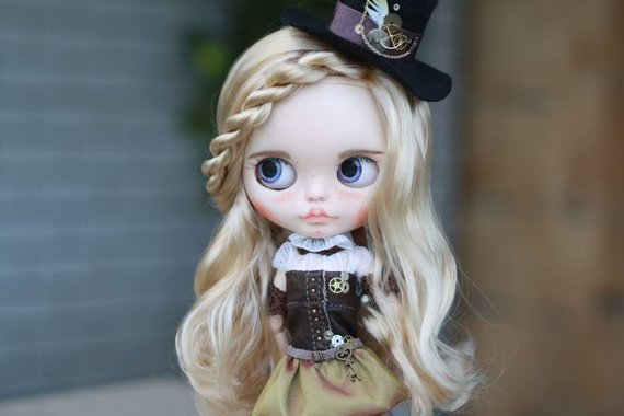 Grace - Custom Blythe Doll One-Of-A-Kind OOAK Sold-out Custom Blythes