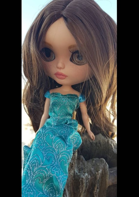 Leila - Custom Blythe Doll One-Of-A-Kind OOAK Sold-out Custom Blythes