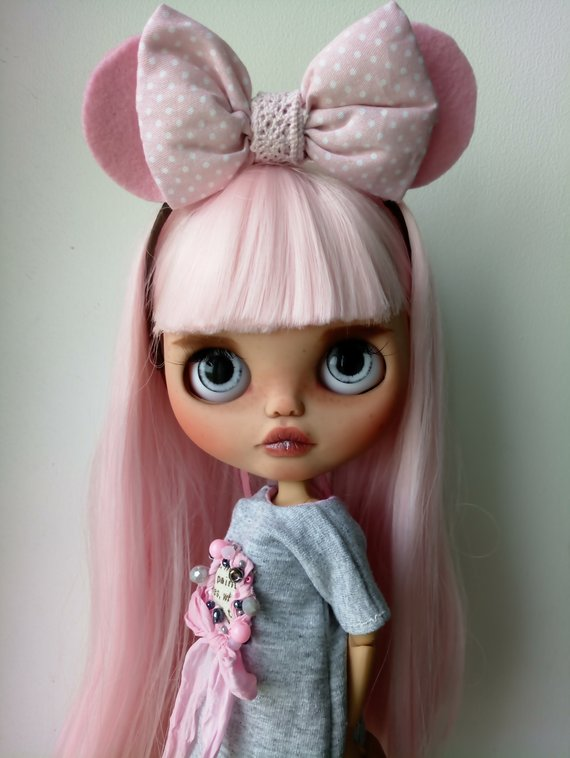 Barbara - Custom Blythe Doll One-Of-A-Kind OOAK Sold-out Custom Blythes