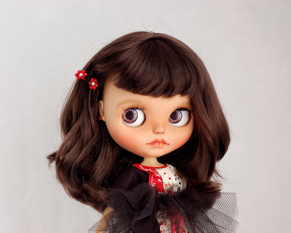 Erika - Custom Blythe Doll One-Of-A-Kind OOAK Sold-out Custom Blythes