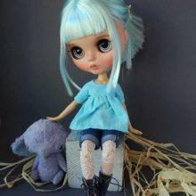 Virginia – Custom Blythe Doll OOAK